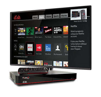 The Hopper - Voice remotes and DVR - Marshall, IL - Harper Sales and Service - DISH Authorized Retailer